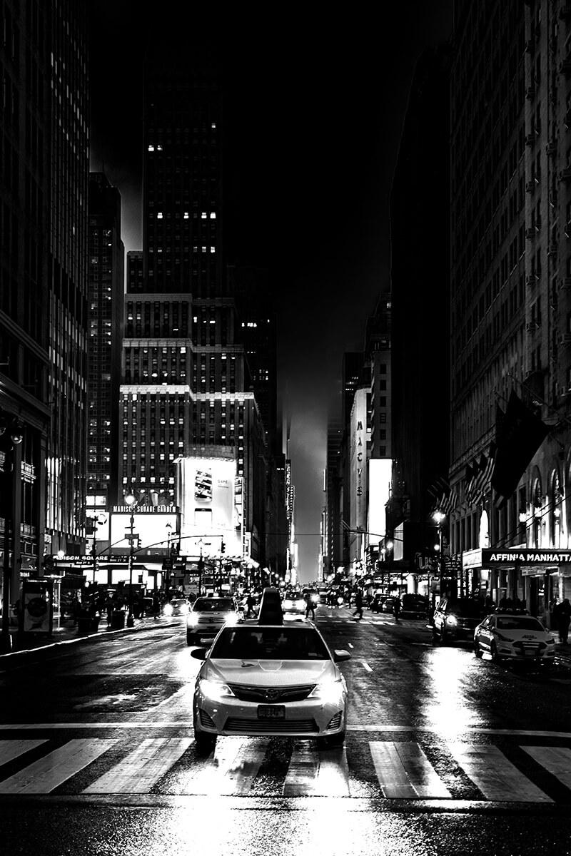 New York Schwarzweiß Fotografie